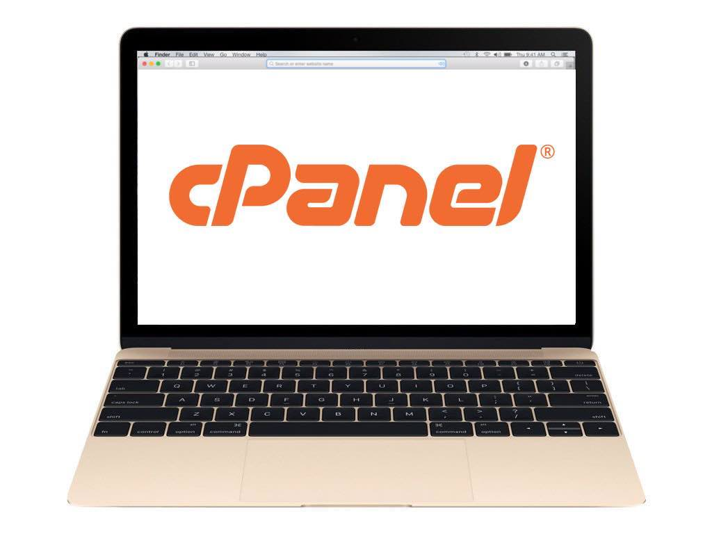 Cpanel-in-gold-MacBook